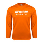 Syntrel Performance Orange Longsleeve Shirt-Upward Sports