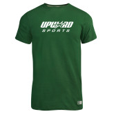 Russell Dark Green Essential T Shirt-Upward Sports