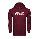 Under Armour Maroon Performance Sweats Team Hood-Upward Stars Basketball