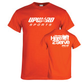 Orange T Shirt-Upward Sports