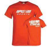 Orange T Shirt-Upward Sports