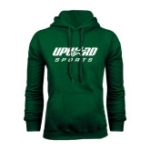 Dark Green Fleece Hood-Upward Sports