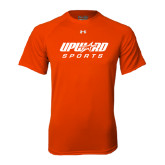 Under Armour Orange Tech Tee-Upward Sports