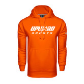 Under Armour Orange Performance Sweats Team Hood-Upward Sports