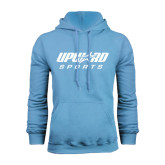 Light Blue Fleece Hood-Upward Sports