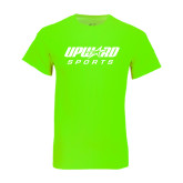 Neon Green T Shirt-Upward Sports
