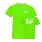 Neon Green T Shirt-Upward Sports