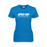 Ladies Sapphire T Shirt-Upward Sports