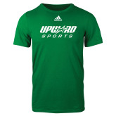 Adidas Kelly Green Logo T Shirt-Upward Sports
