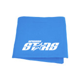 Light Blue Sweatshirt Blanket-Upward Stars