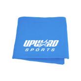 Light Blue Sweatshirt Blanket-Upward Sports