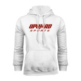 White Fleece Hood-Upward Sports