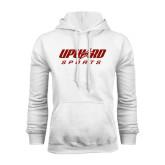 White Fleece Hood-Upward Sports