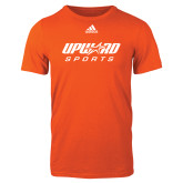 Adidas Orange Logo T Shirt-Upward Sports