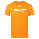 Adidas Gold Logo T Shirt-Upward Sports