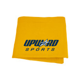 Gold Sweatshirt Blanket-Upward Sports