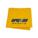 Gold Sweatshirt Blanket-Upward Sports