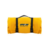 Gold Arctic Fleece Blanket-Upward Sports