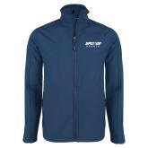 Navy Softshell Jacket-Upward Sports