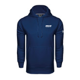 Under Armour Navy Performance Sweats Team Hood-Upward Sports