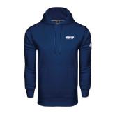Under Armour Navy Performance Sweats Team Hood-Upward Sports