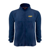 Fleece Full Zip Navy Jacket-Upward Sports
