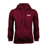 Maroon Fleece Hood-Upward Sports