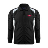 Full Zip Black Wind Jacket-Upward Sports