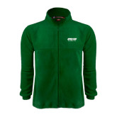 Fleece Full Zip Dark Green Jacket-Upward Sports