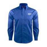 Red House French Blue Dobby Long Sleeve Shirt-Upward Sports