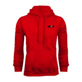 Red Fleece Hood-Upward Sports