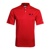 Nike Dri Fit Red Pebble Texture Sport Shirt-Upward Sports