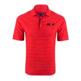 Red Horizontal Textured Polo-Upward Sports