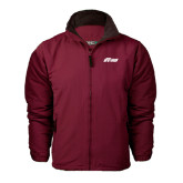 Maroon Survivor Jacket-Upward Stars