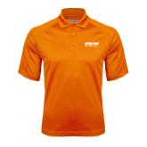 Orange Textured Saddle Shoulder Polo-Upward Sports
