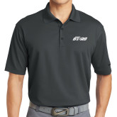 Nike Golf Dri Fit Charcoal Micro Pique Polo-Upward Stars