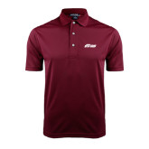 Maroon Dry Mesh Polo-Upward Stars