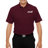 Under Armour Maroon Performance Polo-Upward Stars Basketball