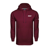 Under Armour Maroon Performance Sweats Team Hood-Upward Sports