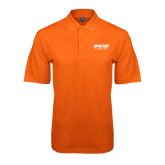 Orange Easycare Pique Polo-Upward Sports