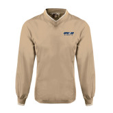 Khaki Executive Windshirt-Upward Sports