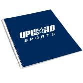 College Spiral Notebook w/Clear Coil-Upward Sports