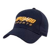 Navy Heavyweight Twill Pro Style Hat-Upward Sports