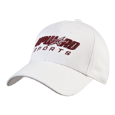 White Heavyweight Twill Pro Style Hat-Upward Sports