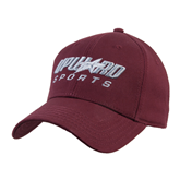Maroon Heavyweight Twill Pro Style Hat-Upward Sports