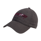 Charcoal Twill Unstructured Low Profile Hat-Upward Sports