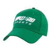 Kelly Green Heavyweight Twill Pro Style Hat-Upward Sports
