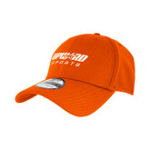 New Era Orange Diamond Era 39Thirty Stretch Fit Hat-Upward Sports