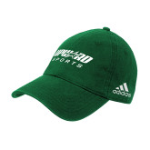 Adidas Kelly Green Slouch Unstructured Low Profile Hat-Upward Sports