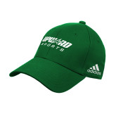 Adidas Kelly Green Structured Adjustable Hat-Upward Sports
